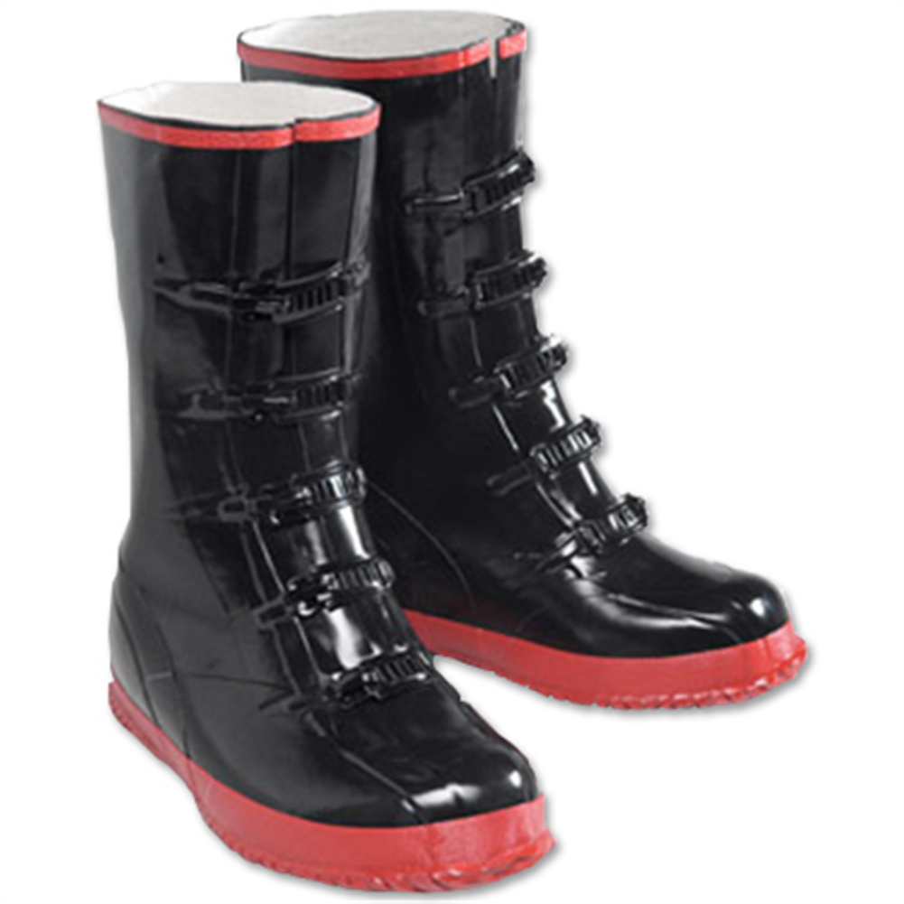 5 Buckle Rubber Boots 5B