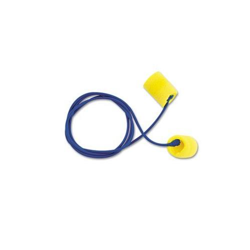Aearo 311-1101 3M TEKK E-A-R Classic Yellow Corded Earplugs, Pack of 200 DECI-C