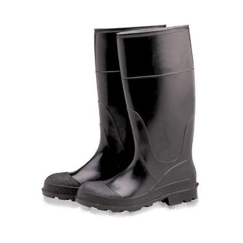 """Industrial PVC Rubber Boots, Plain Toe 16"""" Size 12 PB16-12"""