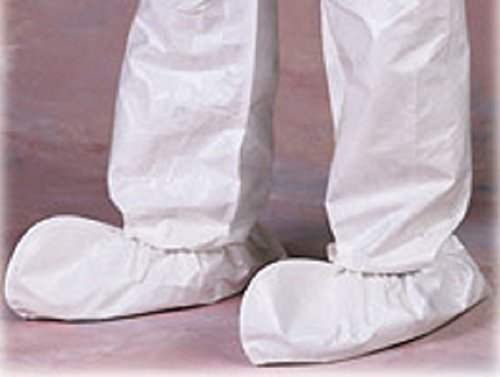 Disposable Protective Shoe Covers, White, 200 Count (100 pairs) TS-100