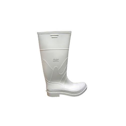WHITE SAFETY RUBBER BOOTS, SIZE 12 WPB16-12